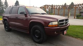 Used 2002 Dodge Durango SLT 4WD for sale in West Kelowna, BC