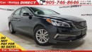 Used 2017 Hyundai Sonata GLS| BACK UP CAM| SUNROOF| BLIND SPOT DETECTION| for sale in Burlington, ON