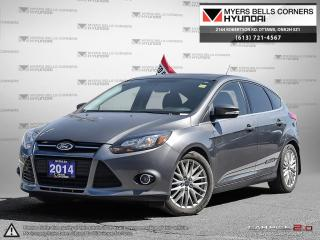 Used 2014 Ford Focus Titanium Hatch for sale in Nepean, ON