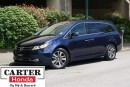 Used 2015 Honda Odyssey Touring + REMOTE START + NAVI + DVD + CERTIFIED! for sale in Vancouver, BC