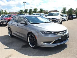 Used 2015 Chrysler 200 C**NAVIGATION**POWER SUNROOF** for sale in Mississauga, ON