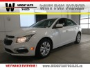 Used 2016 Chevrolet Cruze LT| BACKUP CAM| BLUETOOTH| 63,928KMS for sale in Kitchener, ON