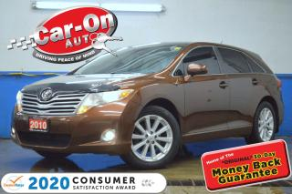 Used 2010 Toyota Venza AWD LEATHER PANO ROOF REAR CAM HTD SEATS for sale in Ottawa, ON