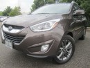 Used 2014 Hyundai Tucson GLS-Sunroof-Super Clean-Certified for sale in Mississauga, ON