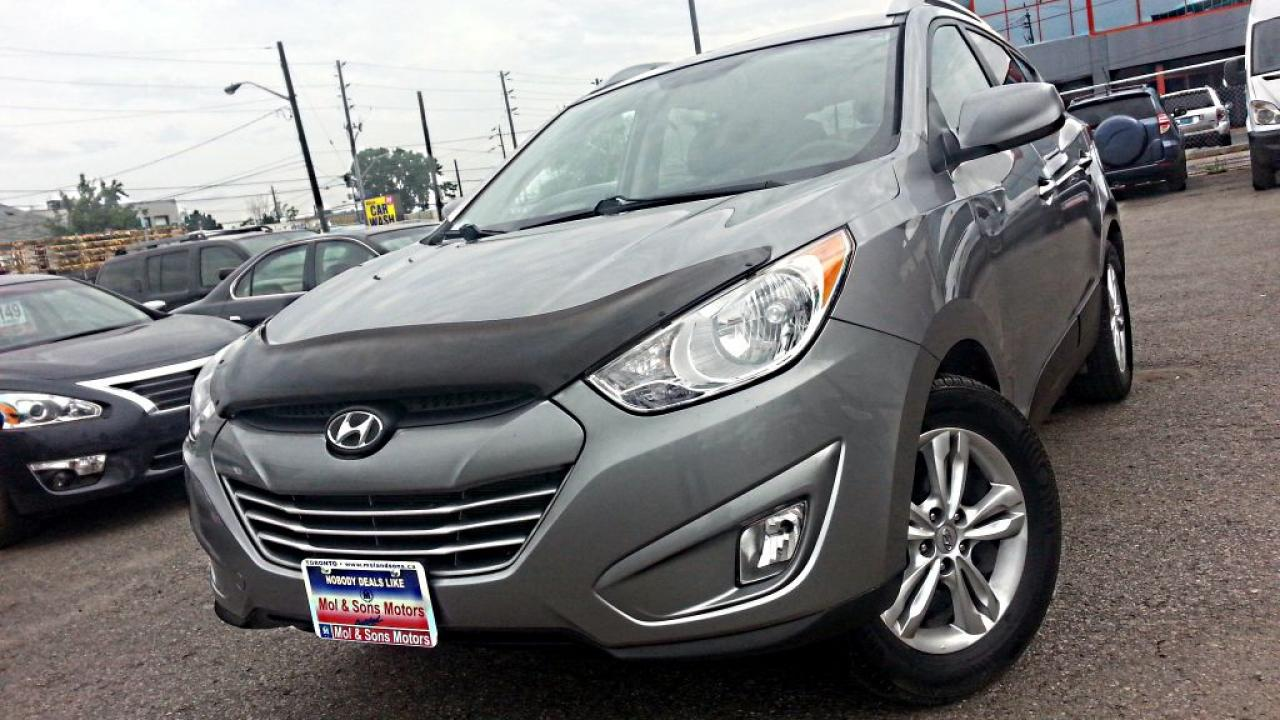 Photo of Grey 2010 Hyundai Tucson