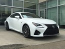 Used 2015 Lexus RC F RED LEATHER/LANE DEPARTURE/BLIND SPOT/NAV for sale in Edmonton, AB