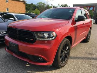 Used 2017 Dodge Durango R/T**CO CAR**ADAPTIVE CRUISE**LANE SENSE**GPS** for sale in Mississauga, ON