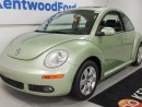 Used 2007 Volkswagen New Beetle 2.5. A beetle? In green? with a sunroof? HECK YA! for sale in Edmonton, AB