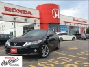 Used 2013 Honda Accord EX-L w/Navi, loaded, one owner, v6 for sale in Scarborough, ON