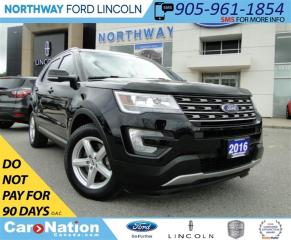 Used 2016 Ford Explorer XLT | NAV | LEATHER | 3RD ROW | PANO ROOF | for sale in Brantford, ON