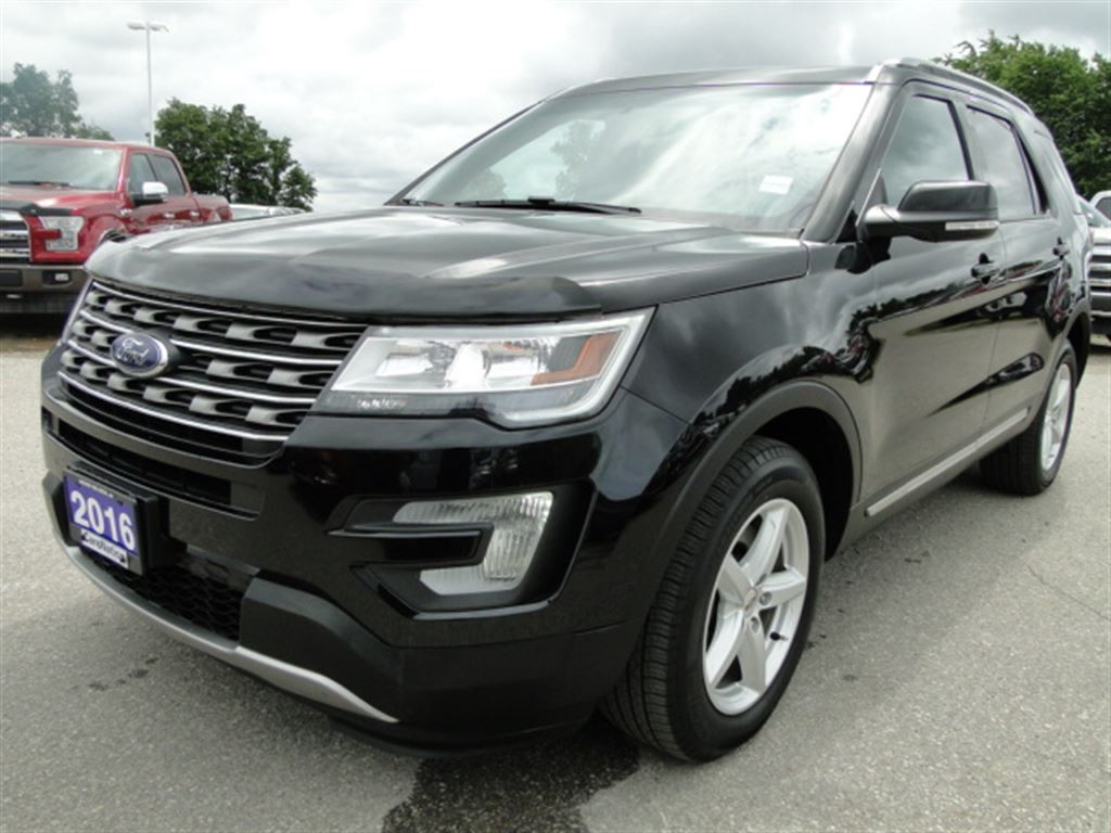 used 2016 ford explorer xlt nav leather 3rd row pano roof for sale in brantford. Black Bedroom Furniture Sets. Home Design Ideas