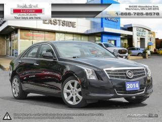 Used 2014 Cadillac ATS INTREST RATE AS LOW AS 0.9% for sale in Markham, ON
