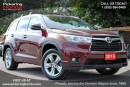 Used 2015 Toyota Highlander Limited LEATHER SUNROOF NAVI for sale in Pickering, ON