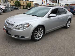 Used 2010 Chevrolet Malibu SE LEATHER SUNROOF REMOTE START HEATED SEATS for sale in Hamilton, ON