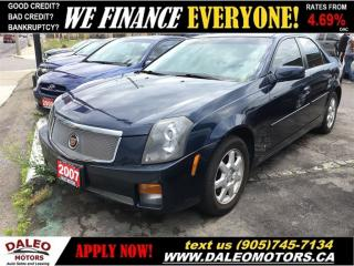 Used 2007 Cadillac CTS 2.8L | HEATED SEATS | MOONROOF | LEATHER for sale in Hamilton, ON