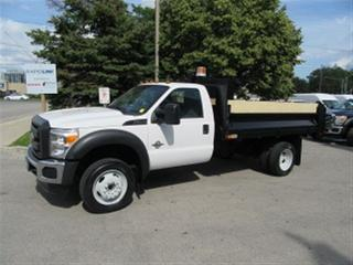 Used 2016 Ford F-550 Diesel 4X4 12ft Steel Del Dump Box X 8 available for sale in Richmond Hill, ON