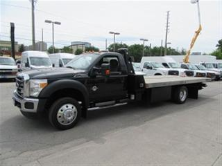 Used 2014 Ford F-550 Diesel 17.5ft rollback towtruck with wheellift for sale in Richmond Hill, ON