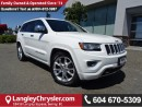 Used 2014 Jeep Grand Cherokee Overland W/ AIR RIDE SUSPENSION & PANORAMIC MOONROOF for sale in Surrey, BC