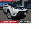 Used 2015 Toyota RAV4 Limited AWD W/LEATHER INTERIOR, BLUETOOTH & SUNROOF for sale in Surrey, BC