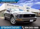 Used 2005 Ford Mustang V6 VERY LOW KM'S, LOCAL, ONE OWNER for sale in Surrey, BC