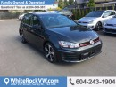 New 2017 Volkswagen Golf GTI 5-Door Performance DSG PERFORMANCE, NAVIGATION, SPOILER, FRONT DUAL A/C & MOONROOF for sale in Surrey, BC