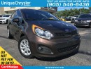 Used 2013 Kia Rio LX+ | HEATED SEATS|| LOW KM| BLUETOOTH| for sale in Burlington, ON