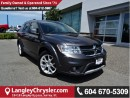Used 2015 Dodge Journey R/T W/BLUETOOTH & HEATED  LEATHER UPHOLSTERY for sale in Surrey, BC
