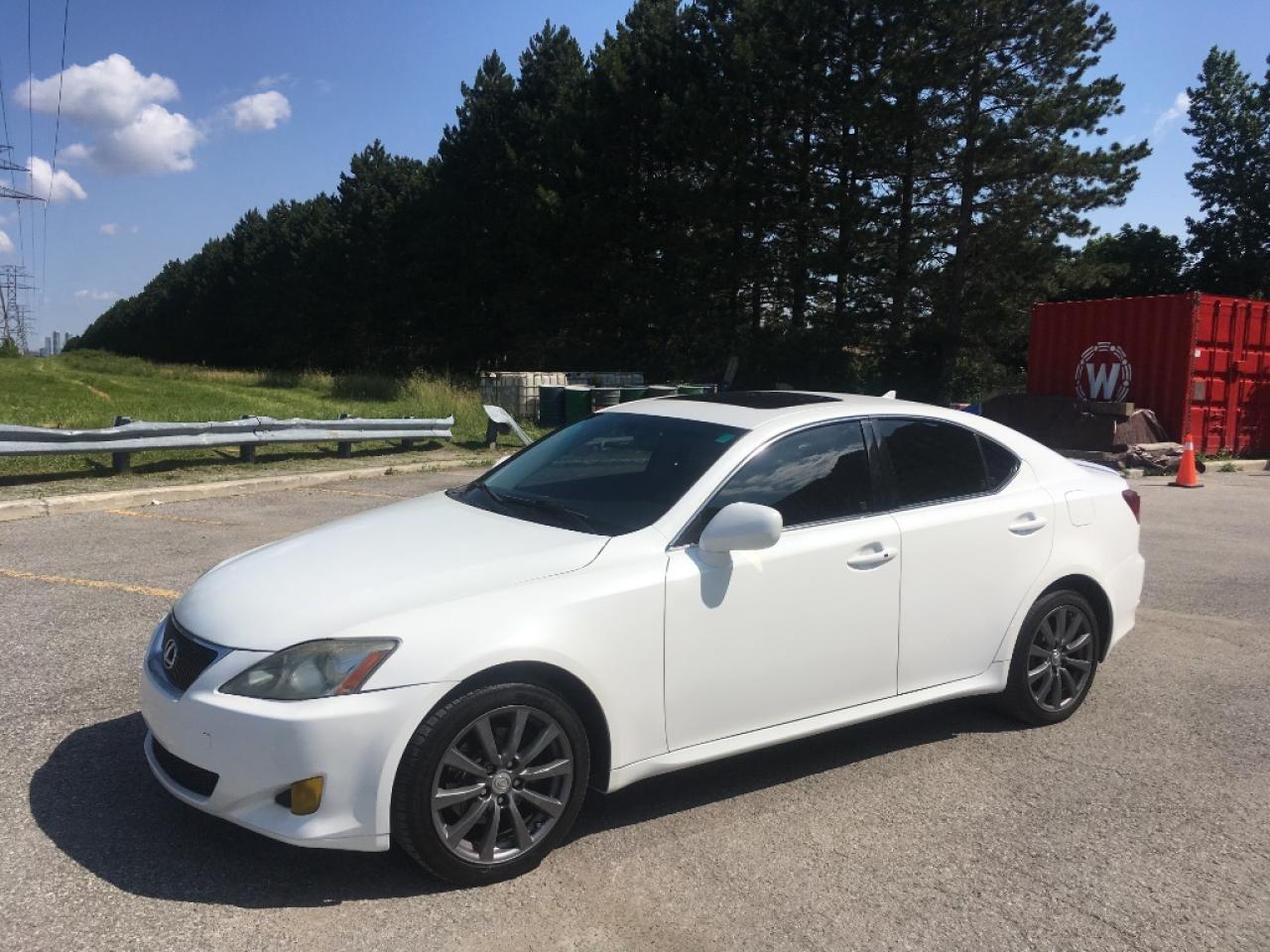2008 Lexus IS 250. WHITE