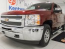 Used 2013 Chevrolet Silverado 1500 LS 4x4 Extended cab! A snazzy gem red. It's all that! for sale in Edmonton, AB