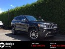 Used 2014 Jeep Grand Cherokee Limited + NAV + LEATHER HEATED FT/RR SEATS + SUNROOF + BACK-UP CAM + REAR PARK ASSIST + NO EXTRA DEALER FEES for sale in Surrey, BC