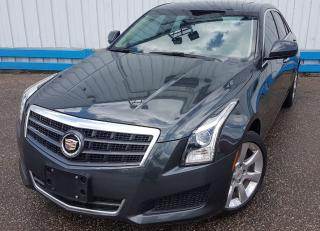 Used 2014 Cadillac ATS 2.0T AWD *LEATHER-SUNROOF* for sale in Kitchener, ON