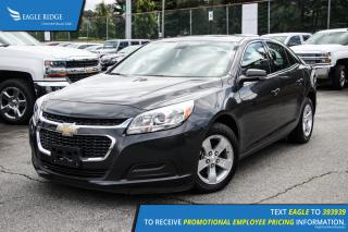 Used 2015 Chevrolet Malibu 1LT AM/FM Radio and Air Conditioning for sale in Port Coquitlam, BC
