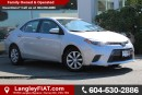 Used 2016 Toyota Corolla LE NO ACCIDENTS, B.C OWNED for sale in Surrey, BC
