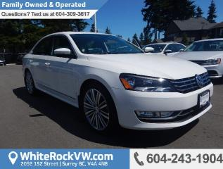 Used 2015 Volkswagen Passat 2.0 TDI Comfortline POWER MOONROOF, A/C & NAVIGATION for sale in Surrey, BC
