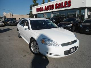 Used 2011 Chevrolet Impala 4dr Sdn LT AUTO ALLOY PW PL PM A/C NO ACCIDENT SAF for sale in Oakville, ON