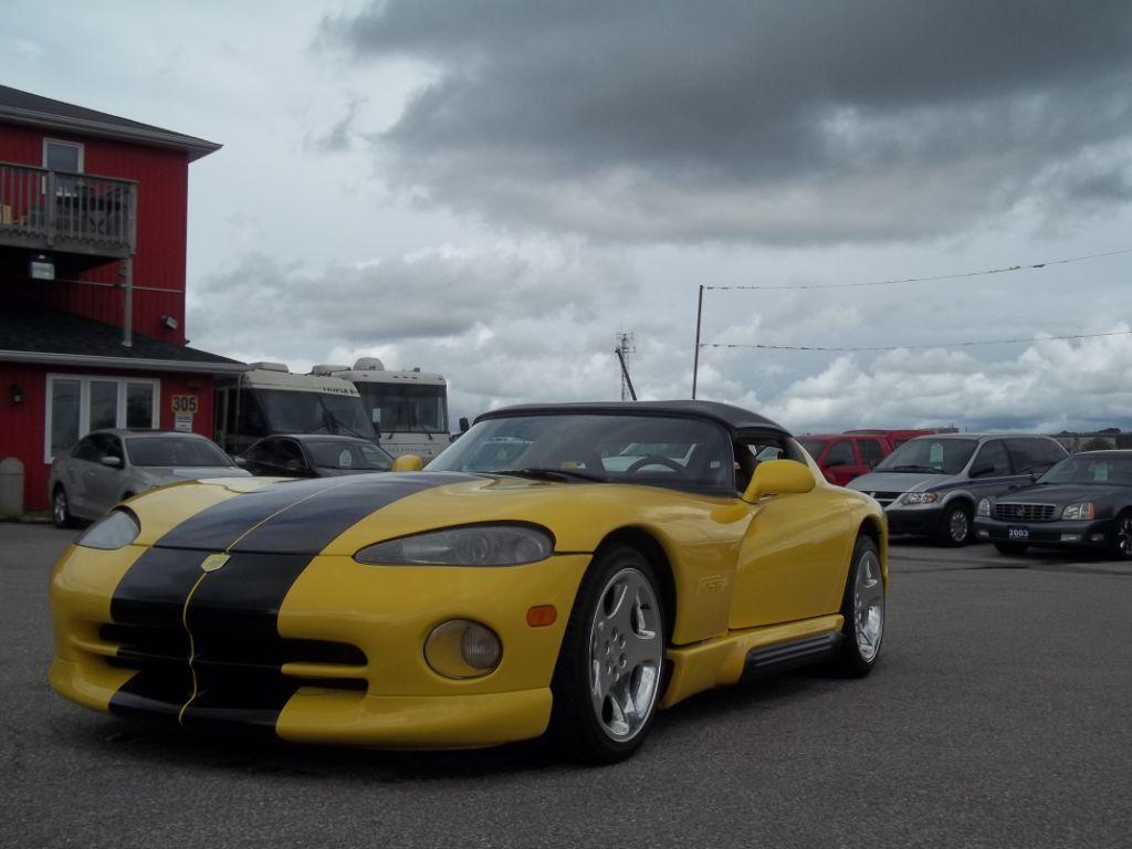 used 1995 dodge viper sports car for sale in orillia ontario. Black Bedroom Furniture Sets. Home Design Ideas