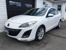 Used 2010 Mazda MAZDA3 GT for sale in Kingston, ON
