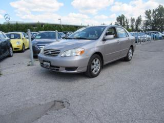 Used 2003 Toyota Corolla LE / ONE OWNER / FULL SERVICE HISTORY for sale in Newmarket, ON