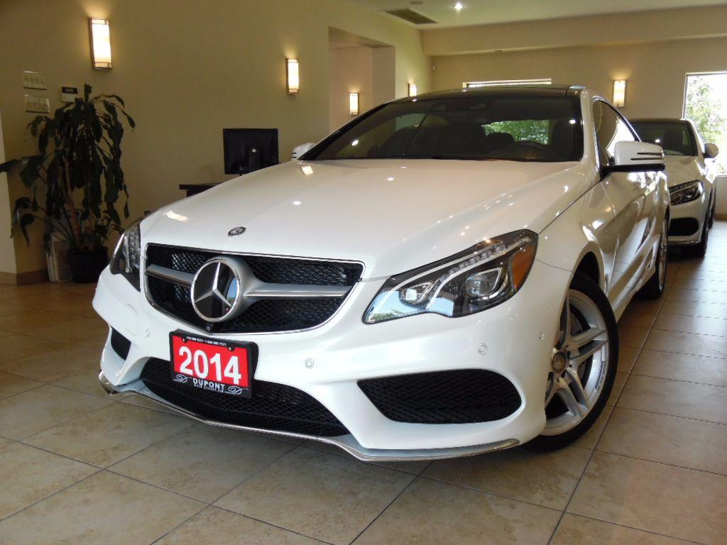 used 2014 mercedes benz e class e550 coupe distronic pkg navi 360cam panoroof for sale in. Black Bedroom Furniture Sets. Home Design Ideas