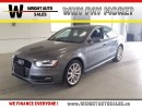 Used 2016 Audi A4 LEATHER|SUNROOF|62,759 KMS for sale in Cambridge, ON