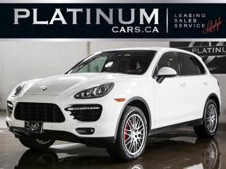 Used 2011 Porsche Cayenne TURBO, 500HP, NAVI, SUNROOF, 21in WHEELS for sale in North York, ON