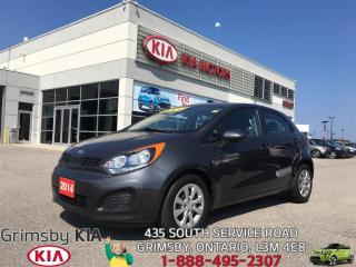 Used 2014 Kia Rio LX...UNBELIEVABLE FUEL ECONOMY AND LOW PAYMENTS!!! for sale in Grimsby, ON
