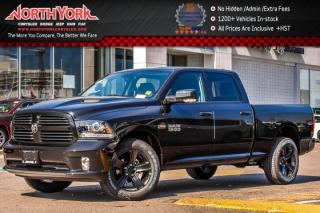 New 2017 Dodge Ram 1500 New Car Sport |4x4|Crew|6.3'Box|ConvenPkg|ParkAsst.|SportPerfHood|20
