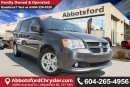 Used 2016 Dodge Grand Caravan Crew Leather Seats & Power Doors & Liftgate! for sale in Abbotsford, BC