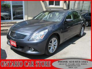 Used 2010 Infiniti G37 X NAVIGATION BACK UP CAM for sale in Toronto, ON