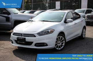 Used 2013 Dodge Dart Limited/GT Navigation, Sunroof, and Heated Seats for sale in Port Coquitlam, BC
