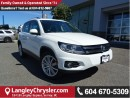 Used 2014 Volkswagen Tiguan Highline w/LEATHER  INTERIOR & PANORAMIC SUNROOF for sale in Surrey, BC