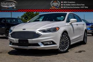 Used 2017 Ford Fusion SE|AWD|Navi|Sunroof|Backup Cam|Bluetooth|Keyless entry|Pwr windows|Pwr Locks|18
