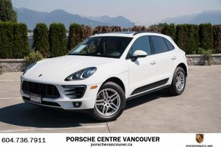 Used 2017 Porsche Macan Porsche Approved Certified for sale in Vancouver, BC