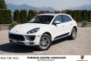 Used 2017 Porsche Macan Porsche Approved Certified. for sale in Vancouver, BC